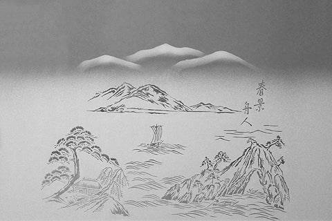 BSG-025 春景舟人